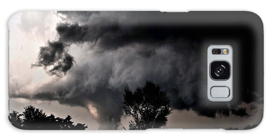 Cloud Galaxy S8 Case featuring the photograph Rain Shaft 01 by Larry Jost