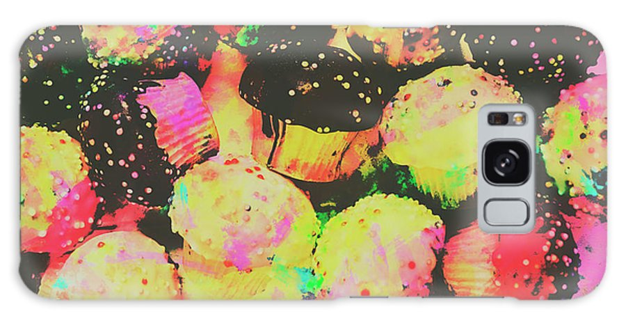 Cupcake Galaxy S8 Case featuring the photograph Rainbow Color Cupcakes by Jorgo Photography - Wall Art Gallery