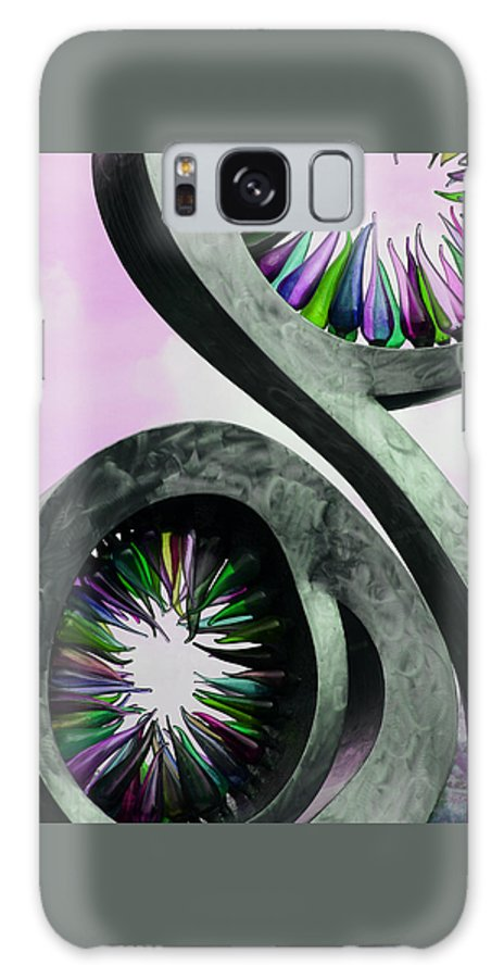 Rainbow Galaxy S8 Case featuring the photograph Rainbow Glass Magic by Tammy Pool