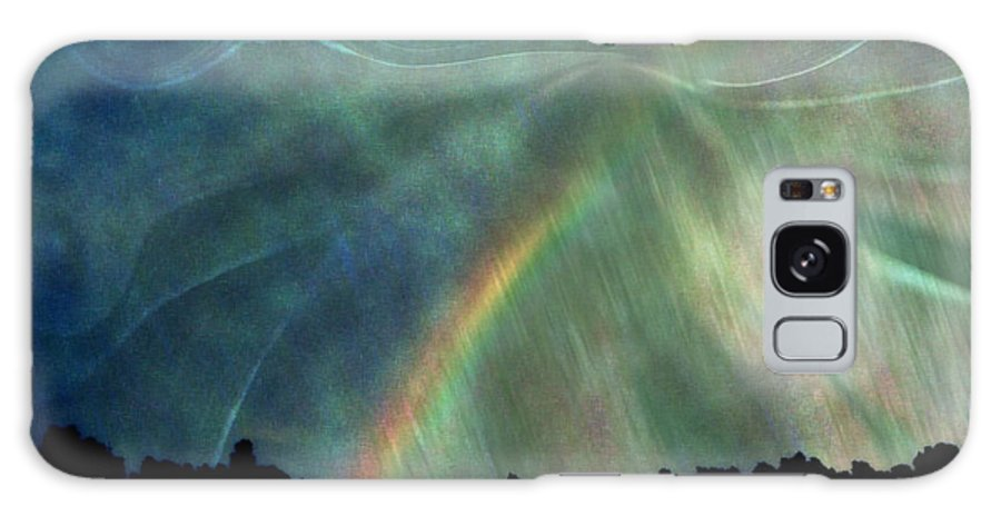 Nature Galaxy S8 Case featuring the photograph Rainbow Showers by Linda Sannuti
