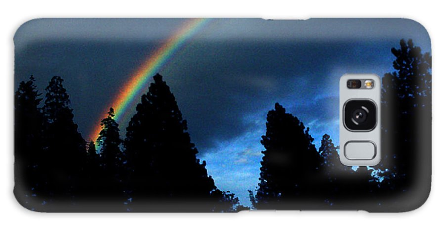 Rainbow Galaxy S8 Case featuring the photograph Rainbow Sky by Peter Piatt