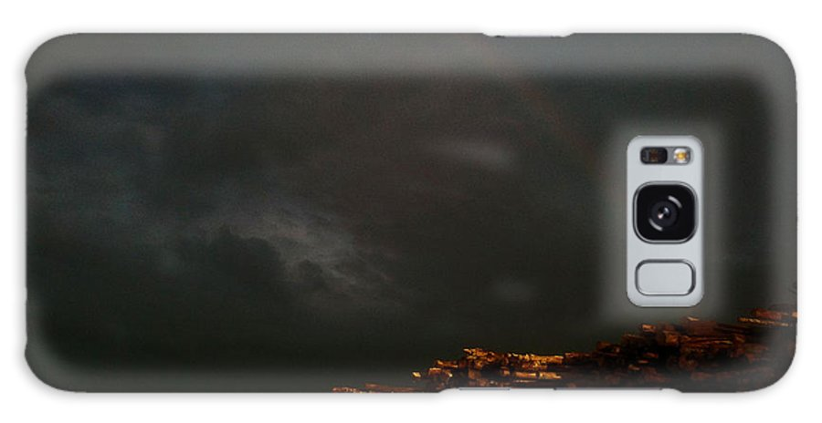 Pac Galaxy S8 Case featuring the photograph Rainbow Storm by Alan Espasandin