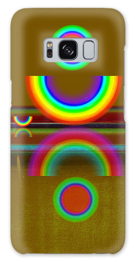 Reflections Galaxy S8 Case featuring the painting Rainbow Warrior by Charles Stuart