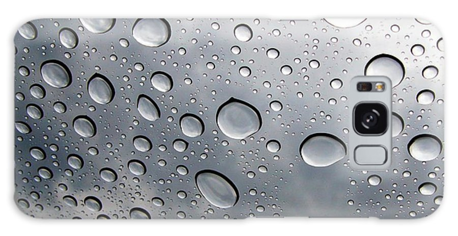 Rain Galaxy Case featuring the photograph Raindrops by Kenna Westerman