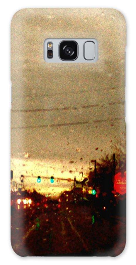 Aunalea Vasquez Galaxy S8 Case featuring the photograph Rainy Evening by Aunalea Vasquez