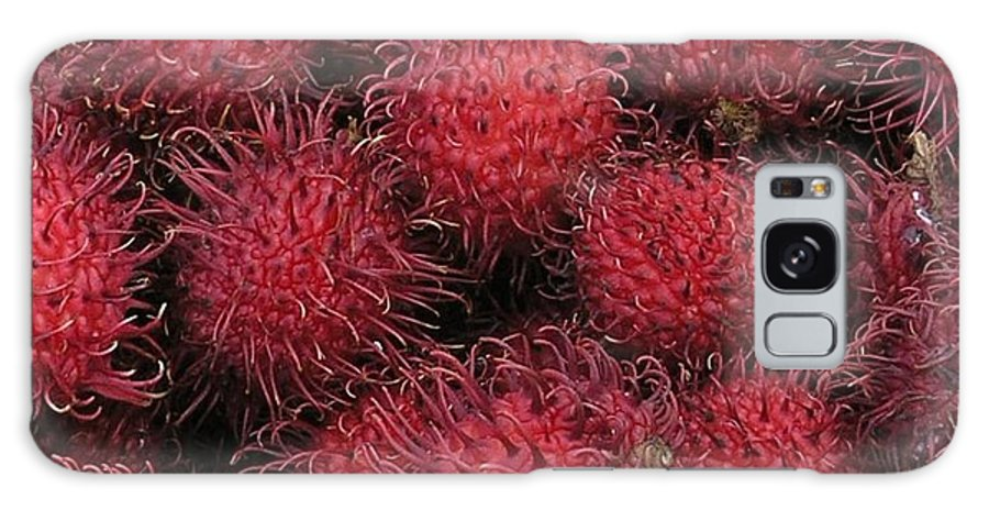 Rambutan Galaxy S8 Case featuring the photograph Rambutan by Mary Deal