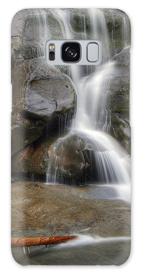 Ramsey Galaxy Case featuring the photograph Ramsey Cascades In Great Smoky Mountains National Park Tennesee by Brendan Reals