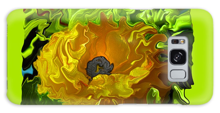 Abstract Galaxy S8 Case featuring the photograph Ranunculus by Kathy Moll
