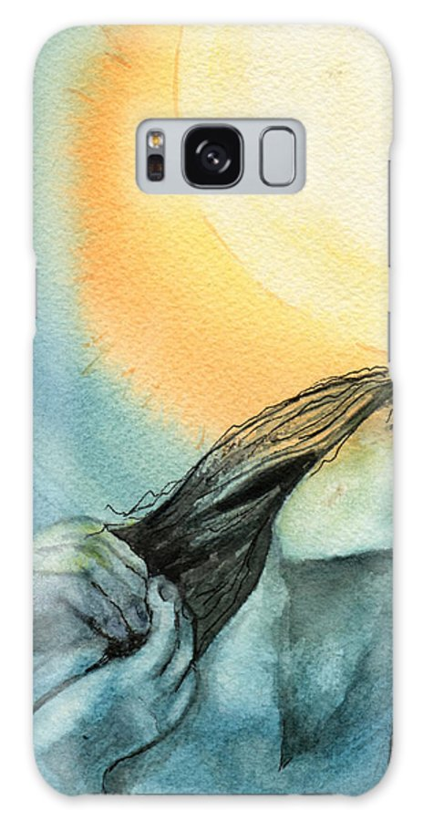 Watercolor Galaxy S8 Case featuring the painting Rapture by Brenda Owen