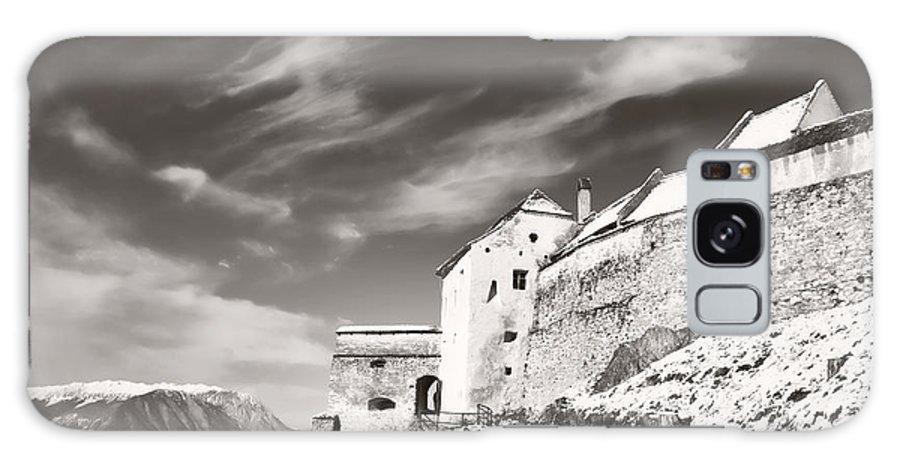 Rasnov Galaxy S8 Case featuring the photograph Rasnov Fortress by Gabriela Insuratelu