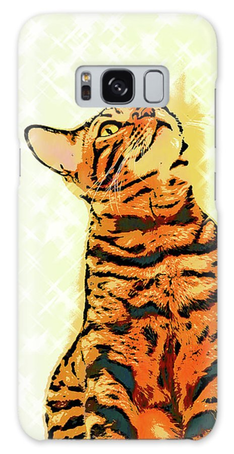 Cat Galaxy S8 Case featuring the photograph Ravi Series #7 by Vicki Podesta