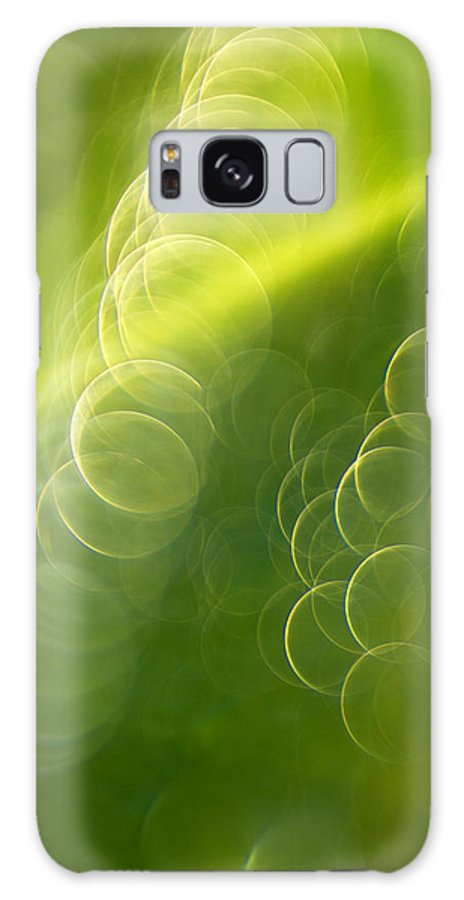 Ray Galaxy S8 Case featuring the photograph Ray Of Light by Silke Magino