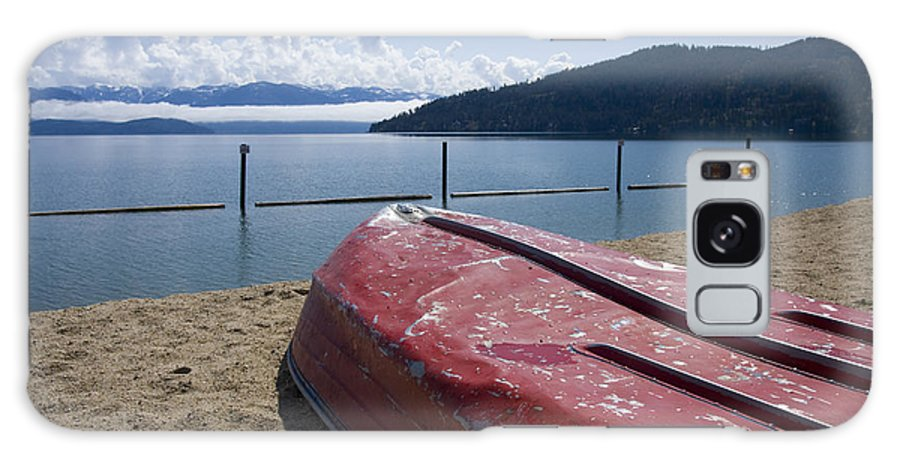 Boat Galaxy S8 Case featuring the photograph Ready In Red by Idaho Scenic Images Linda Lantzy