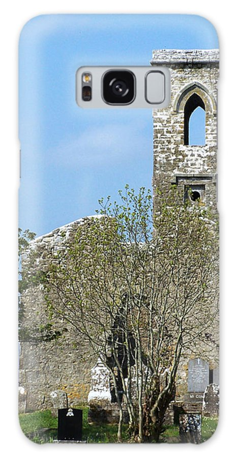 Fuerty Galaxy S8 Case featuring the photograph Rear View Fuerty Church And Cemetery Roscommon Ireland by Teresa Mucha