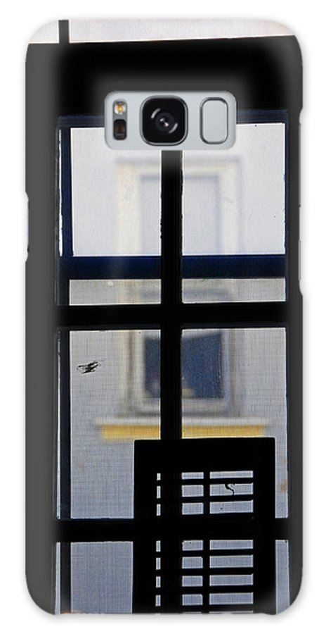 Architecture Galaxy S8 Case featuring the photograph Rear Window 2 by Skip Hunt