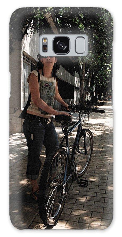Bike Galaxy S8 Case featuring the photograph Rebel by David Cardona