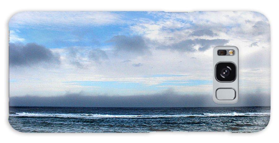 Seascape Galaxy Case featuring the photograph Receding Fog Seascape by Steve Karol
