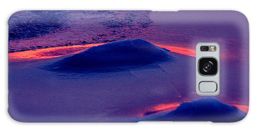 Sunset Galaxy Case featuring the photograph Red Alert by Michael Mogensen