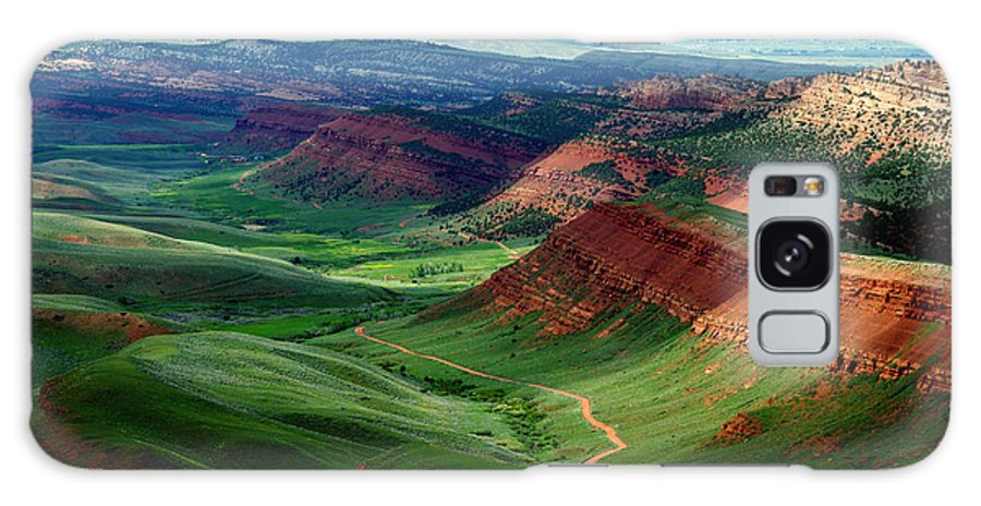 Jenny Gandert Galaxy S8 Case featuring the photograph Red Canyon by Jenny Gandert