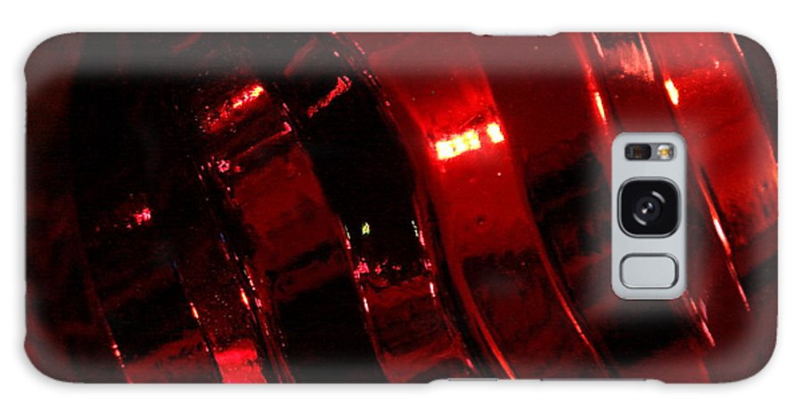 Red Galaxy Case featuring the photograph Red Curves by Kenna Westerman