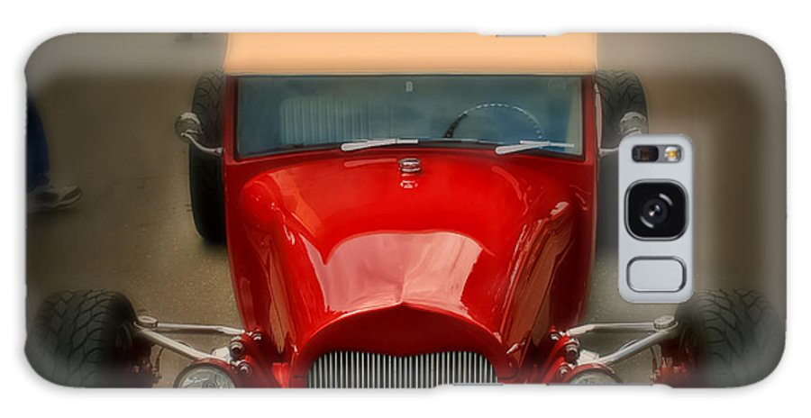 Car Galaxy S8 Case featuring the photograph Red Custom Classic by Perry Webster