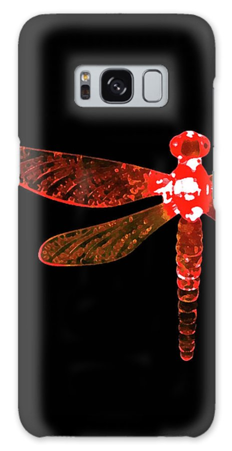 Red Dragonfly Galaxy S8 Case