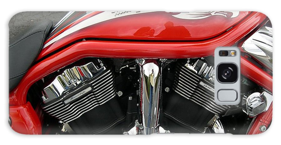 Motorcycle Galaxy S8 Case featuring the photograph Red Eagle by Shirley Shoopman