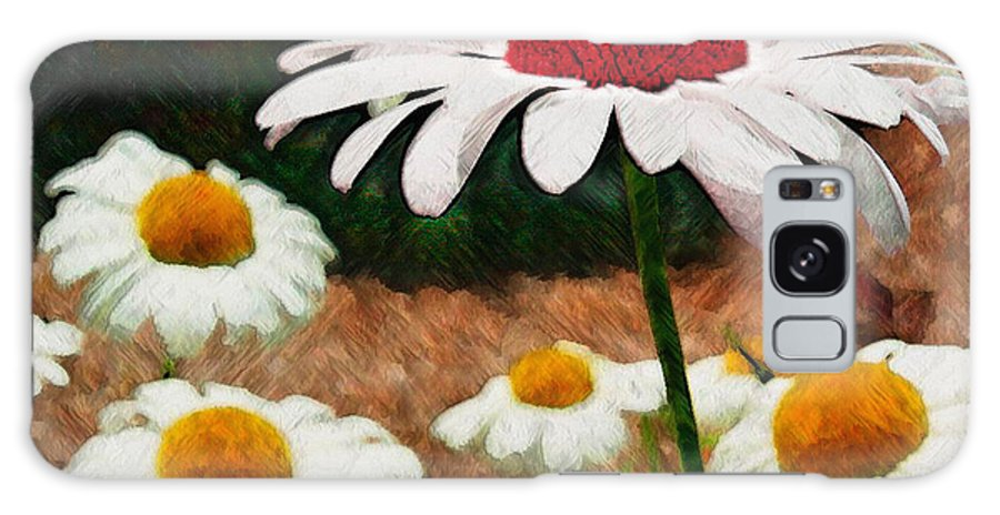 Ebsq Galaxy Case featuring the photograph Red Eyed Daisy by Dee Flouton