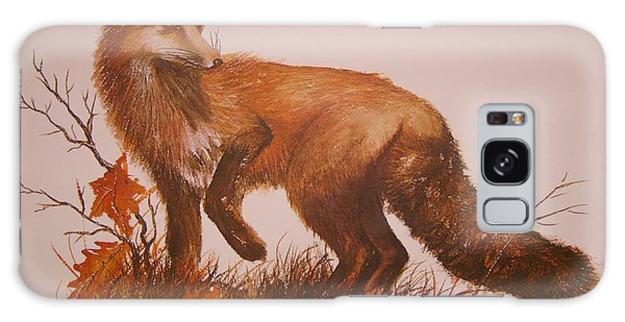 Nature Galaxy S8 Case featuring the painting Red Fox by Ben Kiger