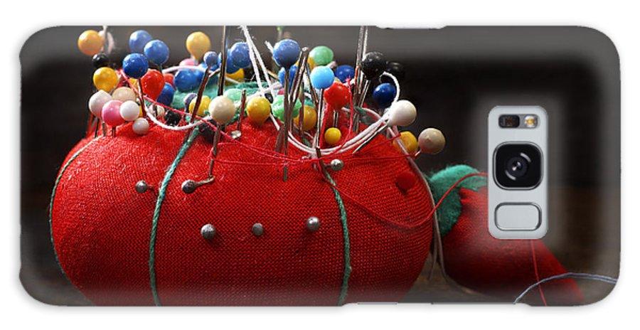Donald Erickson Galaxy S8 Case featuring the photograph Red Pin Cushion by Donald Erickson