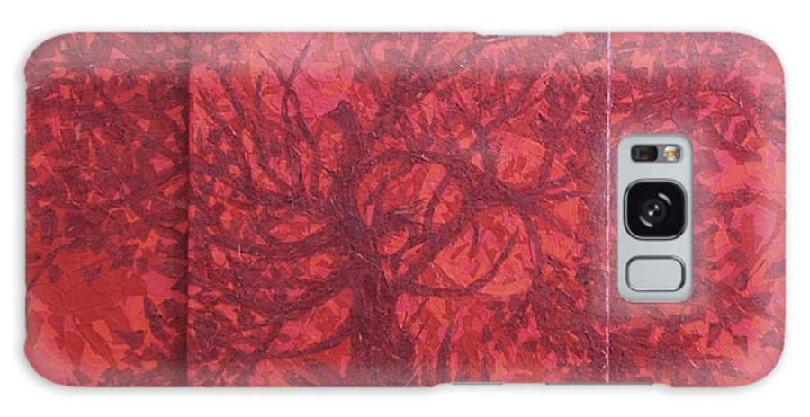 Red Galaxy Case featuring the painting Red Planet by Judy Henninger