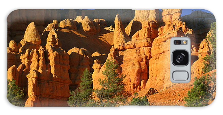 Red Rock Canyon Galaxy S8 Case featuring the photograph Red Rock Canoyon At Sunset by Marty Koch