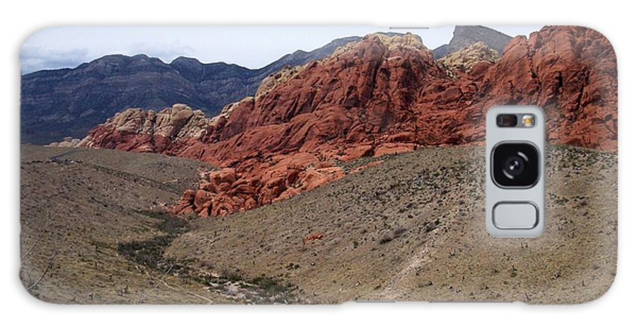 Red Rock Canyon Galaxy Case featuring the photograph Red Rock Canyon 1 by Anita Burgermeister