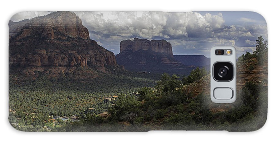 Sedona Galaxy S8 Case featuring the photograph Red Rock Of Sedona Arizona by Billy Bateman