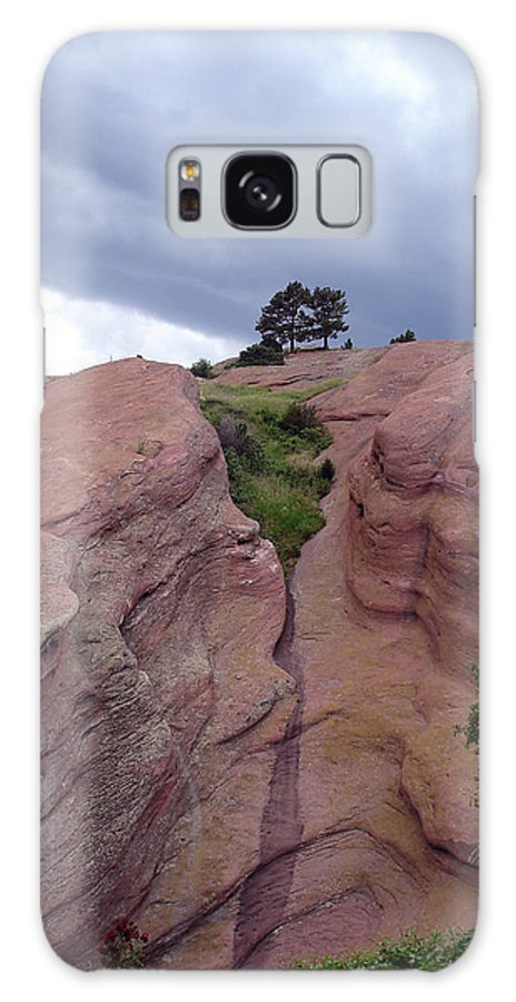 Red Rocks Galaxy Case featuring the photograph Red Rocks by Merja Waters