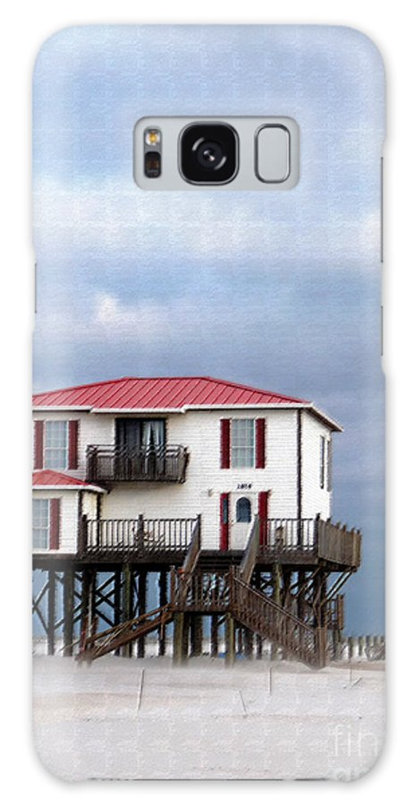 Red Roof House Galaxy S8 Case featuring the photograph Red Roofed by David Bearden