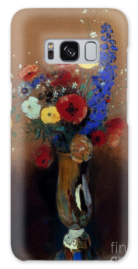 1912 Galaxy S8 Case featuring the photograph Redon: Wild Flowers, C1912 by Granger