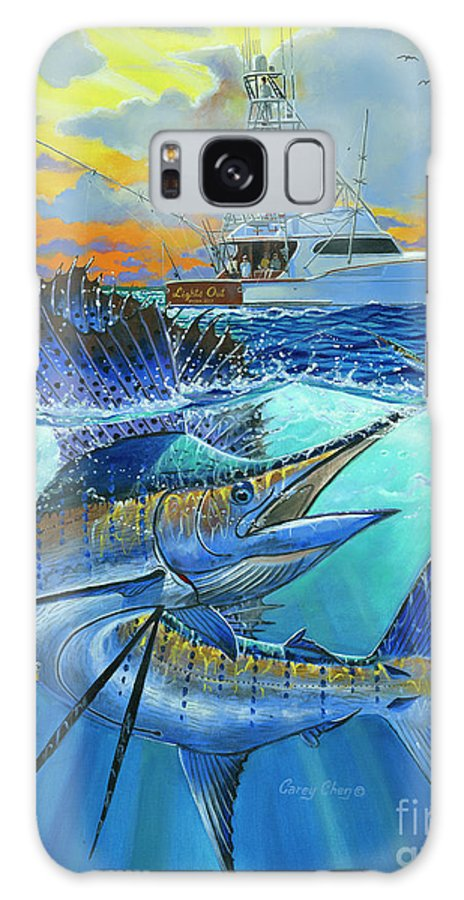 Sailfish Galaxy S8 Case featuring the painting Reef Cup 2017 by Carey Chen