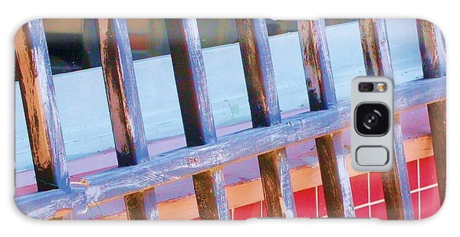 Gate Galaxy Case featuring the photograph Reflections by Debbi Granruth