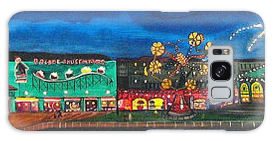 Asbury Art Galaxy Case featuring the painting Remember When by Patricia Arroyo