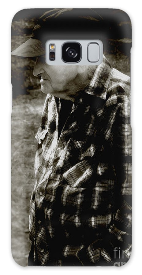 Farmer Galaxy S8 Case featuring the photograph Remembering Hard Times by RC DeWinter