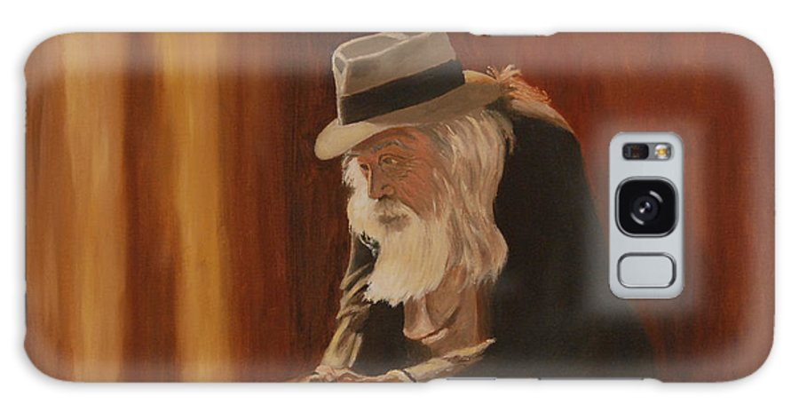Man Galaxy Case featuring the painting Remembrance by Quwatha Valentine