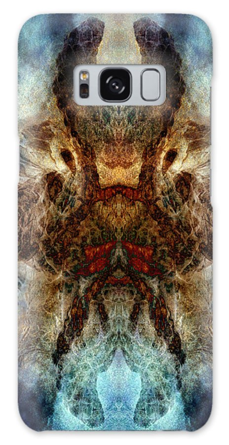 Temper Galaxy S8 Case featuring the digital art Repressed Temper by WB Johnston