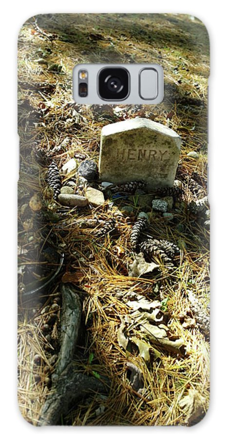 Galaxy S8 Case featuring the photograph Rest In Peace Henry David Thoreau by Lawrence Christopher