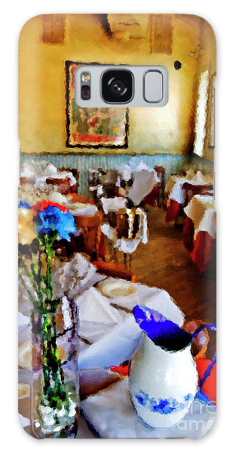 Restaurant Galaxy S8 Case featuring the photograph Restaurant In Red Bank 2 by Madeline Ellis