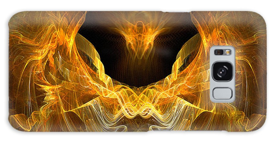 Christian Art Galaxy S8 Case featuring the digital art Resurrection by R Thomas Brass