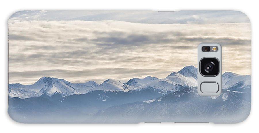 Landscape Galaxy S8 Case featuring the photograph Retezat Mountains by Gabriela Insuratelu