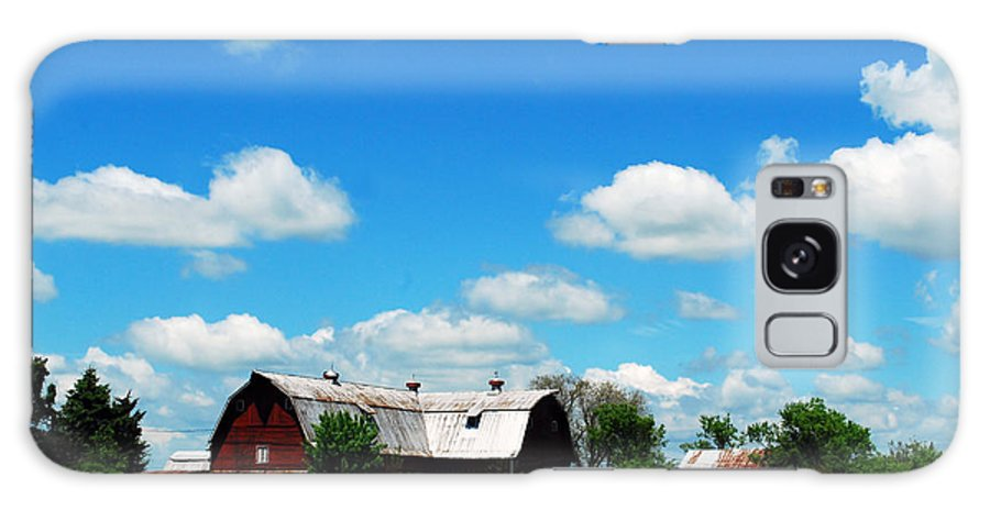 Barn Galaxy S8 Case featuring the photograph Retired Barn by Lori Tambakis