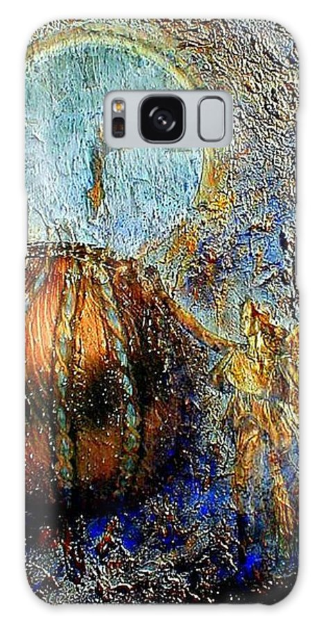 Christian Galaxy S8 Case featuring the mixed media Revelation by Gail Kirtz