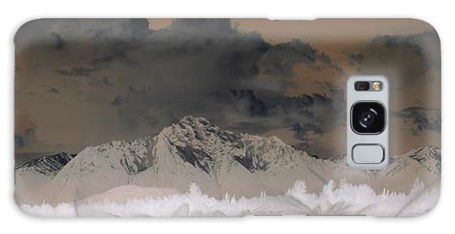 Landscape Galaxy S8 Case featuring the photograph Reverse Landscape by Ron Bissett